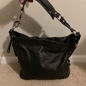 Coach 10616 Leather 'Carly' Shoulder Bag